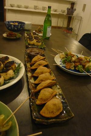いきものパーティ、料理。
