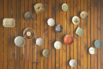 方々の豆皿 マシコ6