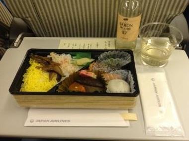 JAL機内食12月復路