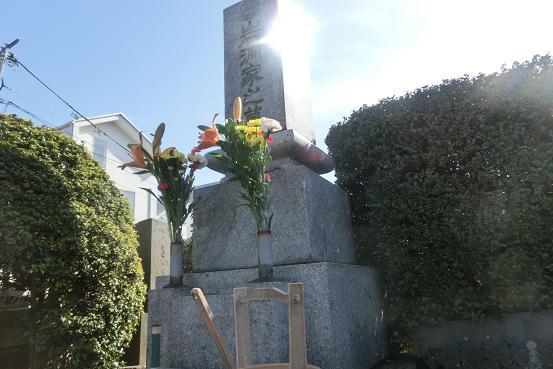 岩淵達治先生の墓