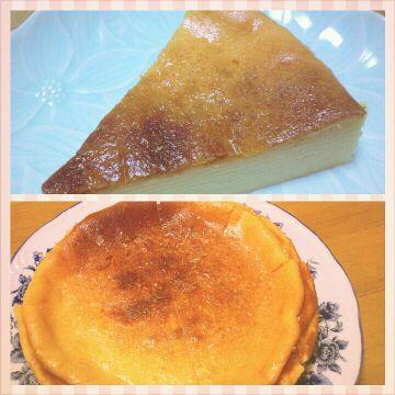 どろんちゅうの ベイクドチーズケーキ!ヾ(@⌒¬⌒@)ノ