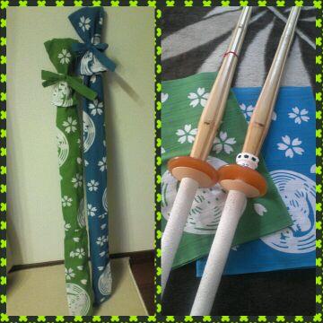 竹刀袋+。:.゚ヽ(*´ω`)ノ゚.:。+゚