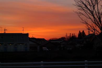 夕焼け2014-1