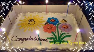 Birthday cake2012