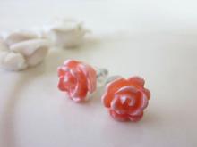 $Color Blog-プチプラ!バラ色ピアス
