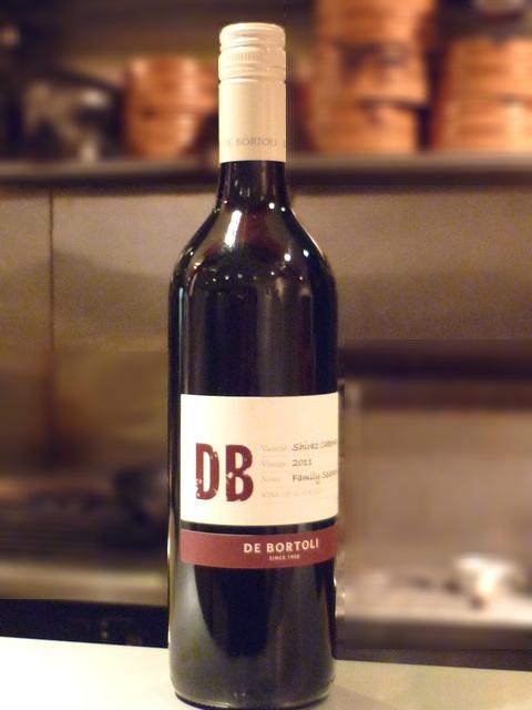 限定の赤ワイン