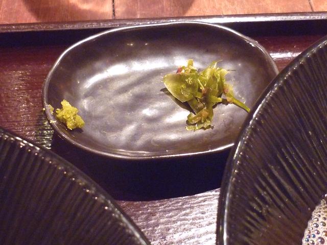 中華そばの薬味