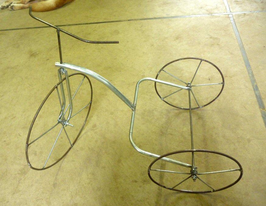 三輪車フレーム