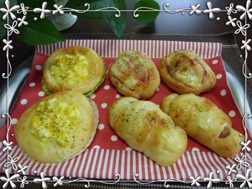 惣菜パン完成