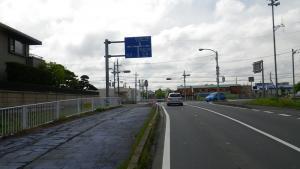 011R137にぶつかると左折し成田方面へ