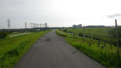 014利根運河を利根川方面へ