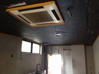 OVAL天井塗装2