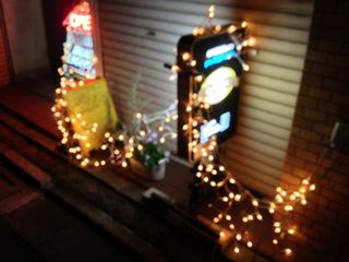 オーバル店外クリスマスバージョン
