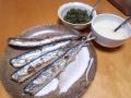 秋刀魚の塩焼き 20140130