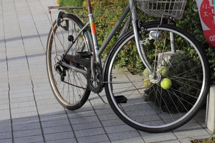 自転車の 自転車 スポーク : 肘張らずに 自転車のスポーク ...
