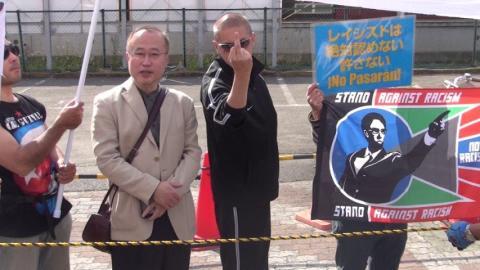 有田と一緒に写っているしばき隊の野郎は、「oscar」という名前だった