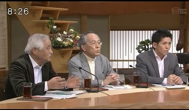 1月5日TBS「サンデーモーニング」岸井成格