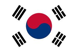 【Yin Yang = 陰陽 = 韓国国旗の中心にある赤青】