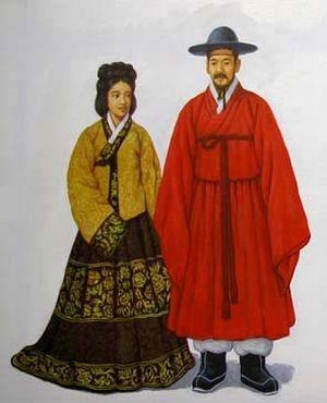 朝鮮の民族衣装