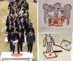 日本の子供たちにも、しっかり、「日の丸」を踏ませてしまおう!振付師・南流石とテレビ神奈川(tvk)は日の丸否定に罪悪感をなくそうじゃないか!お手本は韓国のこれだ!