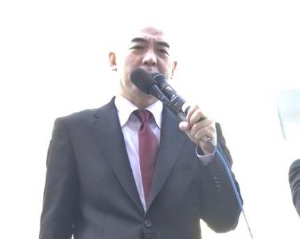 百田尚樹の田母神応援演説