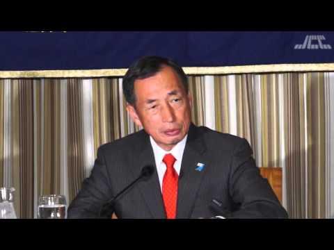 東京都知事選2014 田母神俊雄氏 外国特派員協会での会見