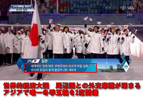 「世界的経済大国 周辺国との外交摩擦が深まる アジアで唯一冬季五輪を2度開催」