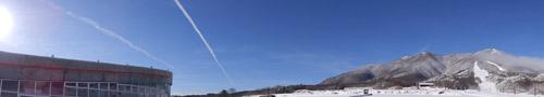今朝のいいづなリゾートスキー場