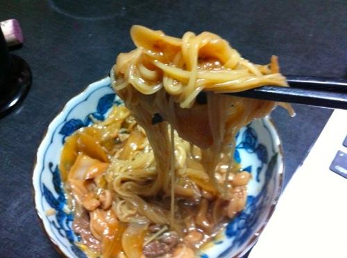 n鋳込み麺