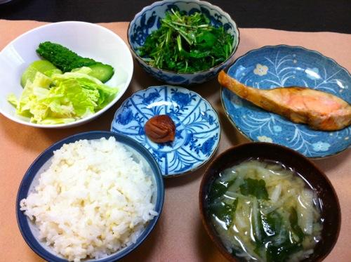 DE-OIL流野菜朝食