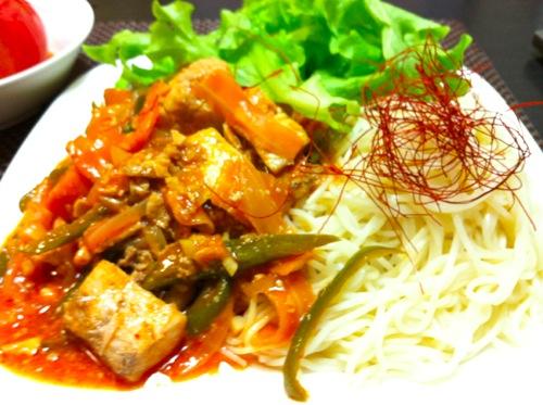 韓流和え麺