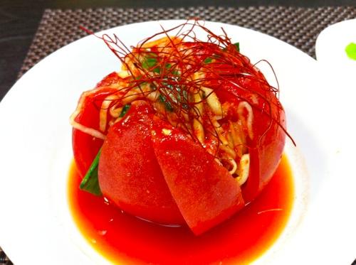 自家製トマトキムチ