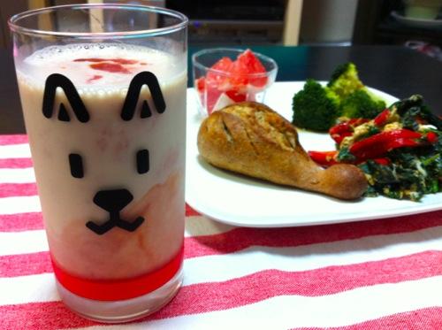 豆乳&トマトジュース
