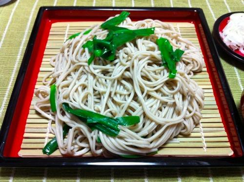 ニラ蕎麦あっぷ1