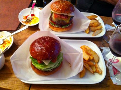 ハンバーガー2種