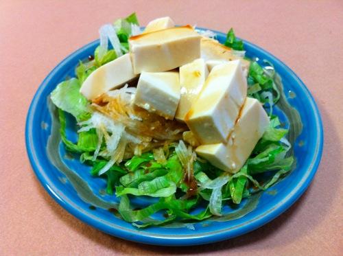 豆腐のi前菜