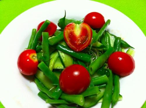 ♡トマトのサラダ