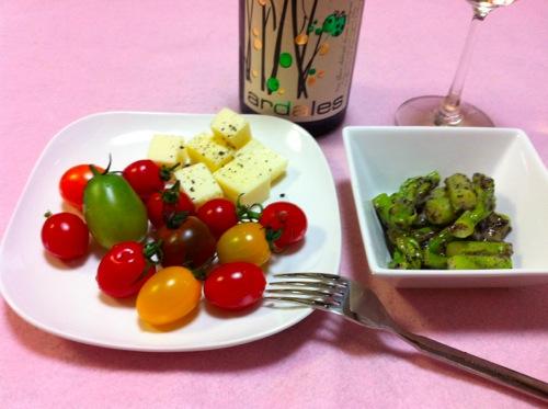 トマト&黒ごまマヨ