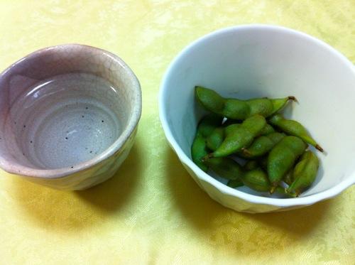 富の宝山と紫豆