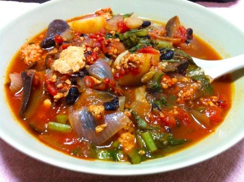 豆豉スープ