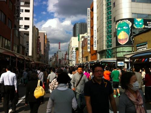 合羽橋道具祭り
