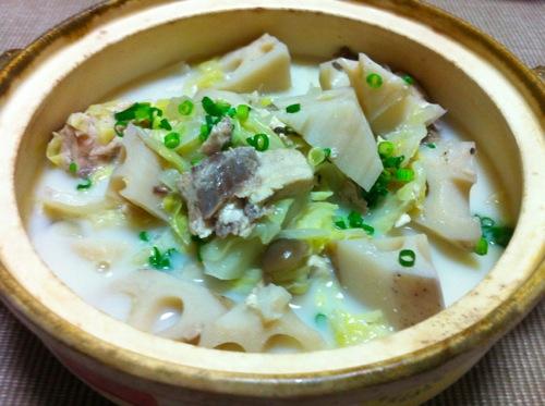 カジキマグロ鍋