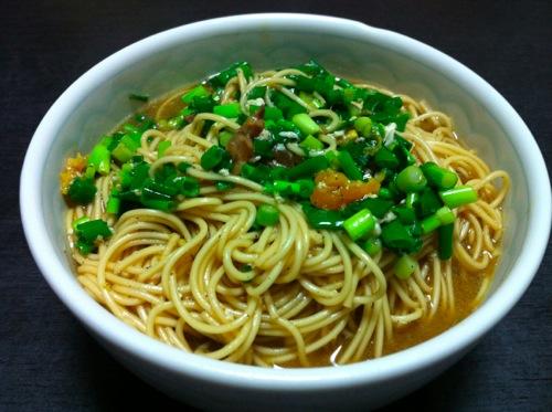 残り汁煮麺