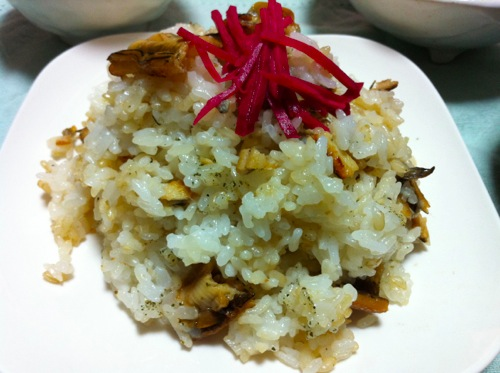 穴子寿司山椒