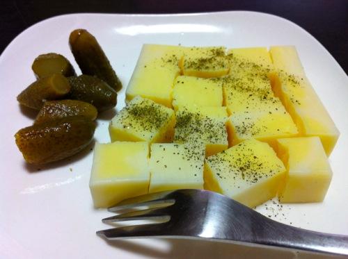 ドライチーズ&ピクルス
