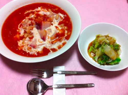 低カロリーノンオイルスープ
