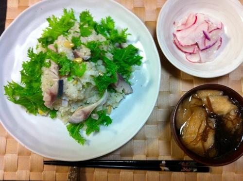 オメガ3のサラダ寿司
