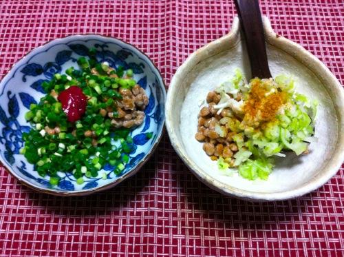 二種の納豆