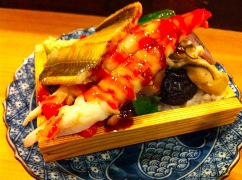 箱寿司その1