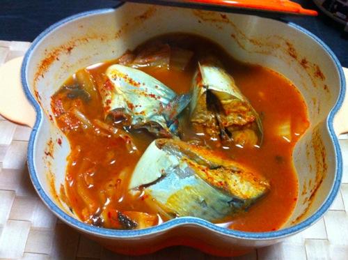 3ルクルーゼの鯖キムチ
